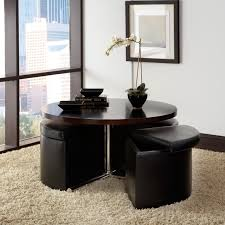 Coffee Table Ottomans With Storage by Standard Furniture Cosmo Adjustable Height Round Wood Top Coffee