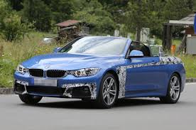 spyshots 2014 bmw 4 series cabriolet spotted in italy gtspirit