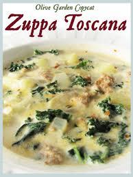 olive garden copycat zuppa toscana recipe easier use bear