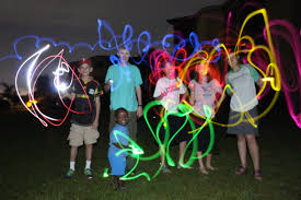 glow sticks kids with glow sticks collision