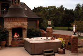 Backyard Ideas For Hot Tubs And Swim Spas - Backyard spa designs