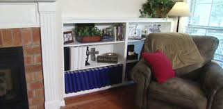 Living Room Built In Living How To Build A Built In Bookcase In Your Home Today U0027s Homeowner