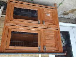 Double Rabbit Hutches Hutches And Accessories For Sale In Isle Of Wight Wightbay