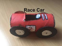 how to make a race car out of cardboard youtube