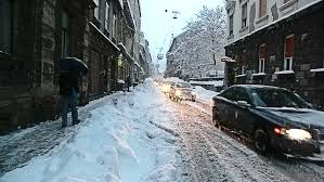 zagreb croatia january 14 crossroads in the town center while