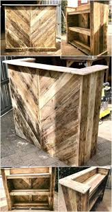 Recycled Wood by Best 25 Wooden Bar Ideas On Pinterest Wooden Pallet Ideas Man