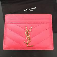 ysl business card holder 8 yves laurent handbags yves laurent card