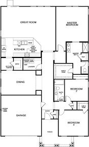 floor plan for new homes plan 2354 new home floor plan in palermo estates by kb home