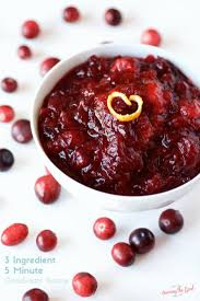 3 ingredient cranberry sauce made minutes