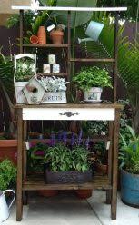 Plant Bench Plans - outdoor plant bench benches outdoor furniture plant stands