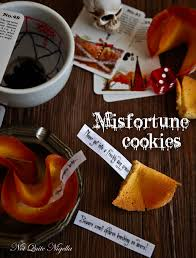 misfortune cookies for halloween not quite nigella