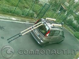 porta per auto porta gommone da tetto auto
