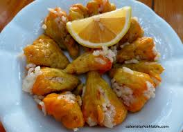 Zucchini Flowers Stuffed - stuffed courgette flowers ozlem u0027s turkish table