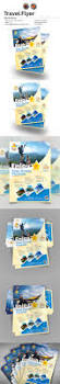 holiday travel flyer u2014 eps template promotion tour flyer
