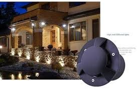 polarized light 9w led underground ligjht 12v 24v ip65 waterproof