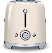 smeg tsf02crus countertop toaster with 4 slice capacity defrost