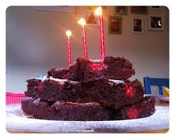 chocolate raspberry birthday brownies rhoda kirwan