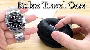 Rolex travel case best wrist watch travel case