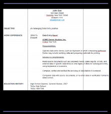 cover letter data entry clerk no experience