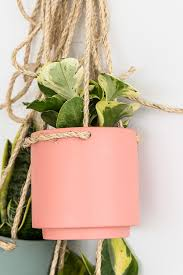 plant one on me a 5 hanging planter hack hanging planters
