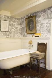 Toile Bathroom Wallpaper by 246 Best French Toile Interiors Images On Pinterest Toile Home