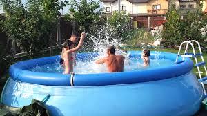 Intex 12x30 Pool Intex Pool Test Splashing Avi Hd Galaxy S2 By Mister Fox Youtube