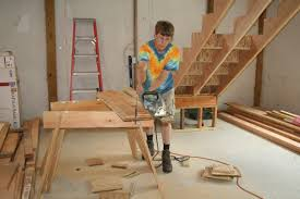 patrick u0027s barn building basic stairs fine homebuilding