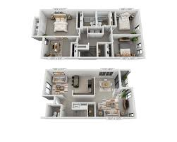 Townhome Floorplans by Floor Plans And Pricing For Circle Towers Fairfax Va