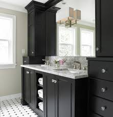 cabinet knob placement bathroom transitional with wall lighting