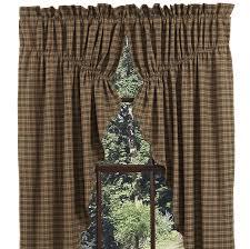 Prairie Curtains Barrington Lined Prairie Curtain Swag Curtains And Swag