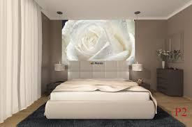 mural big rose in cream colour wall mural big rose in cream colour
