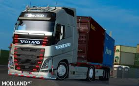 volvo trailer truck volvo fh16 750 turkish edition mod for ets 2
