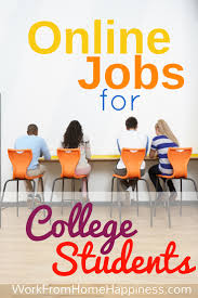 legitimate ideas for college student jobs online new year