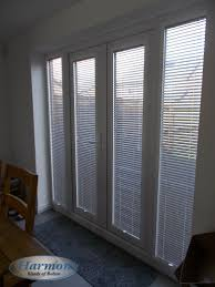 perfect fit venetian blinds in french doors harmony blinds of