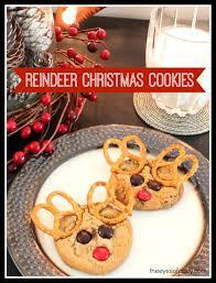 reindeer christmas cookies for kids cute idea leave for santa