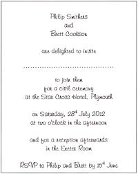 wedding ceremony card ceremony card wording glamorous wedding ceremony invitation