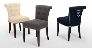 Blue Upholstered Dining Chairs Dining Room Blue Fabric Dining Chairs With Oak Intended Design