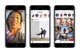 instagram enters live video fray and takes on snapchat u2013 wwd