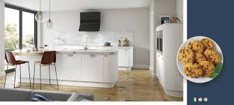 vivo matt white kitchens on trend kitchen collection