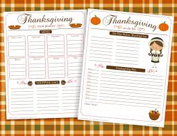 this freebie friday thanksgiving meal planner mygrafico