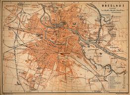 Map Poland Breslau 1910 Mapy Breslau Wroclaw Pinterest Poland And