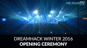 dreamhack winter 2016 opening ceremony invigning 4k