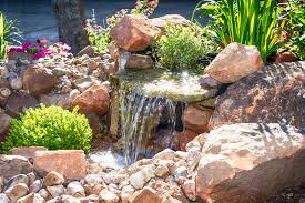 Waterfall In Backyard Waterfalls U0026 Ponds Landscaping Services Houston U0026 Clear Lake Area