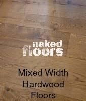 width wood flooring