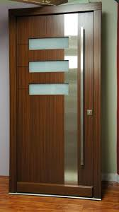exterior wooden doors with glass panels front entry wood double