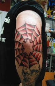 ultimate collection of spider web tattoo pictures wpjuices