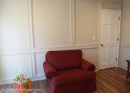 Best Paint For Paneling A Crafty Wife I Finally Painted Our Wood Judges U0027 Paneling