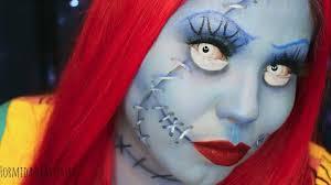 zombie cinderella tutorial formidableartistry nightmare before christmas sally makeup tutorial