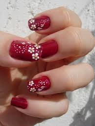 flower nail art designs for beginners step by step at home