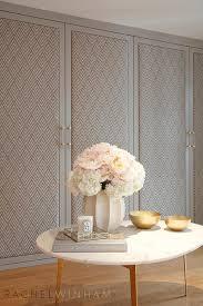 gray fabric closet doors contemporary closet